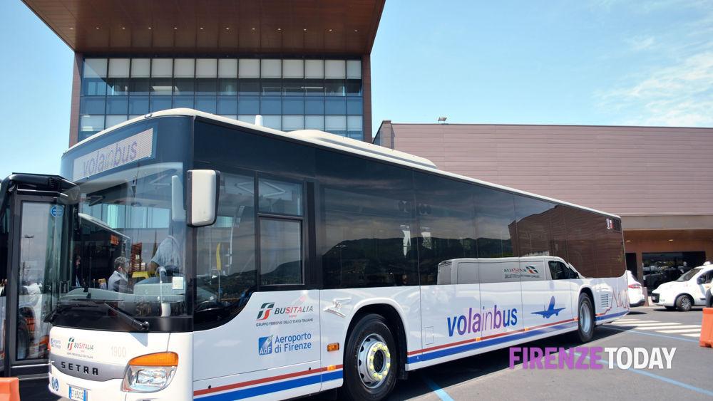 I nuovi bus navetta dal centro di firenze all aeroporto di for Bagno a ripoli firenze bus