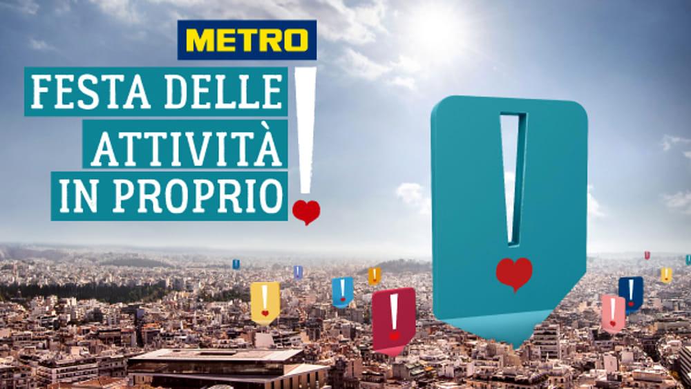 La festa delle Attività in Proprio di Metro