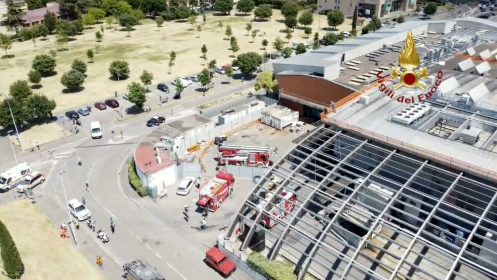 Incendio alla Centro Coop di Ponte a Greve