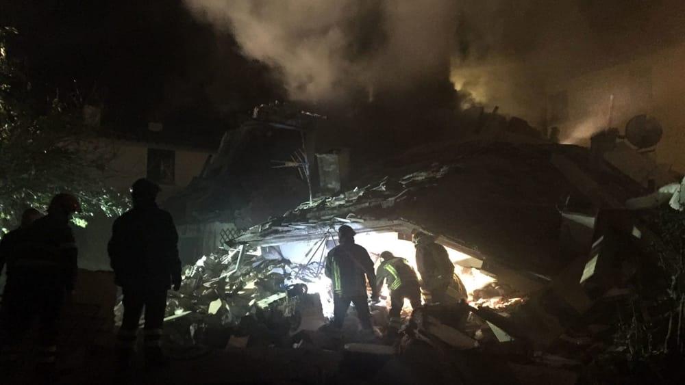 bagno a ripoli crolla edificio in via villamagna